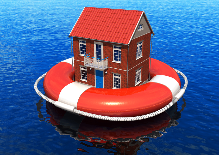 Рынок недвижимости плывет вниз по течению