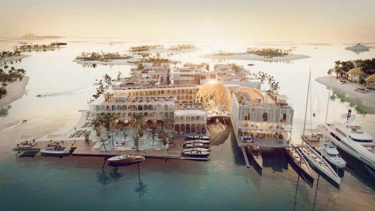 В Дубае построят плавучий город