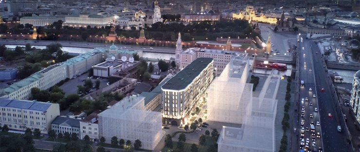 Цены на квартиры рядом с парком «Зарядье» начинаются от 9,3 млн рублей
