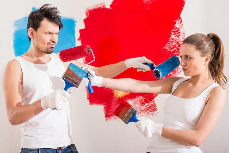 Раскол в семье: как договориться со второй половиной о ремонте или покупке жилья