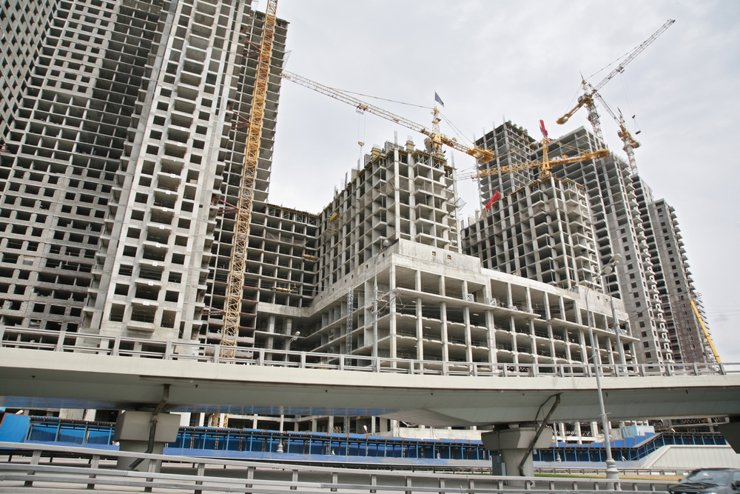 Рейтинг крупнейших городов России по объему ввода жилья на 1 жителя