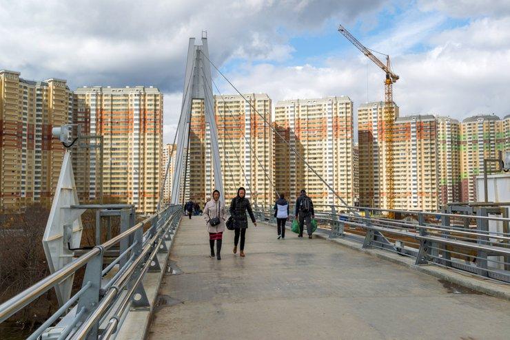 В Ближнем Подмосковье квартиры в домах у метро стоят на 39% дороже