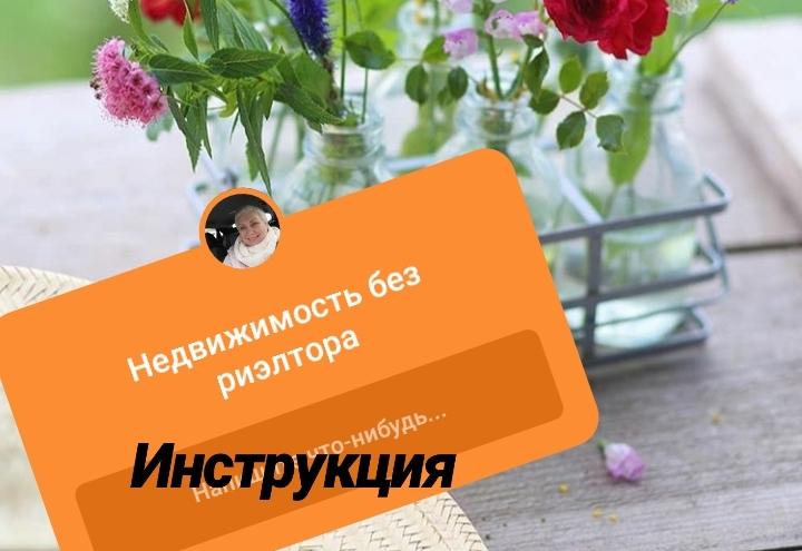 ССР - или недвижимость без риэлтора  (из дневника практикующего агента)))