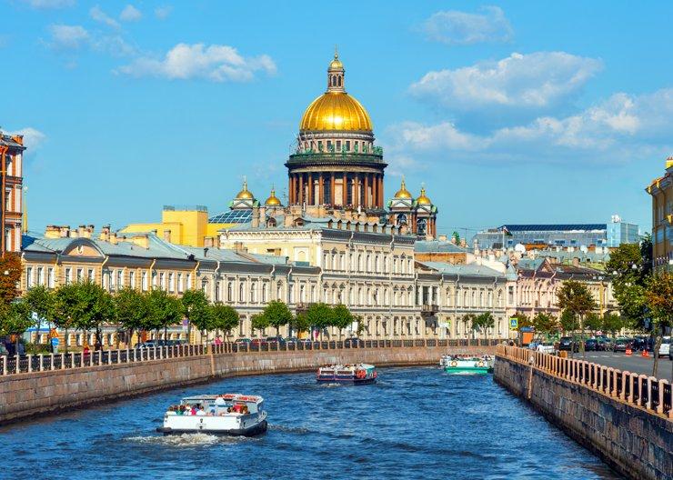 Короткие выходные в Санкт-Петербурге