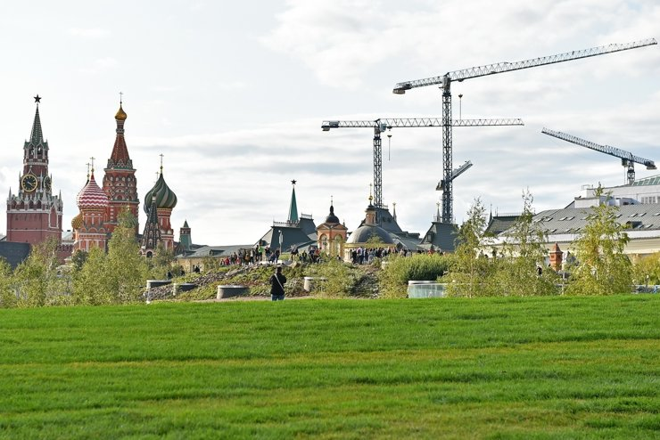 Московских строителей обеспечили работой на 5 лет вперед