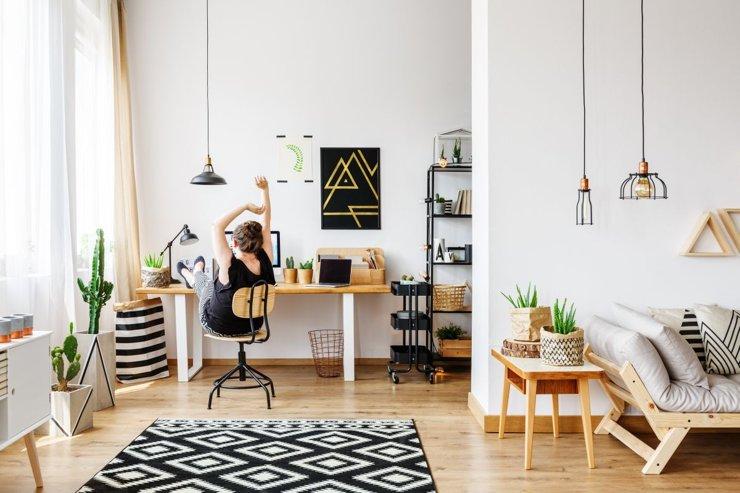 Кабинет в квартире. Идеи дизайна