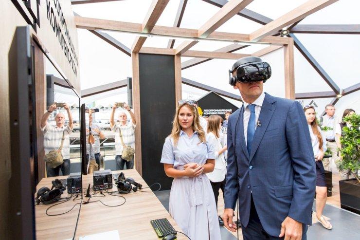 В столице открылась интерактивная площадка, посвященная деревянному домостроению