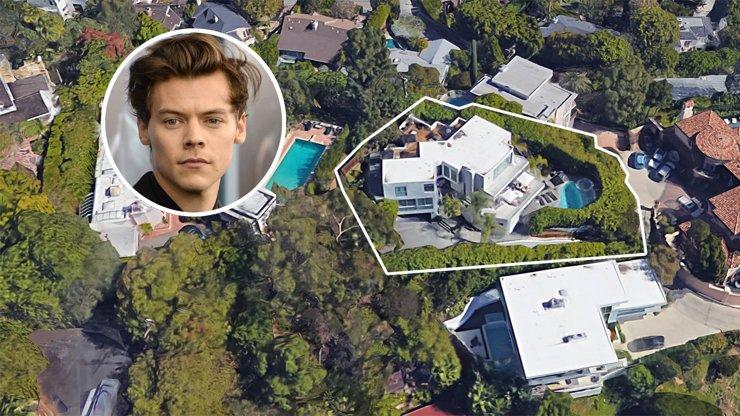 Дом экс-солиста One Direction Гарри Стайлса подешевел еще на $500 тыс.