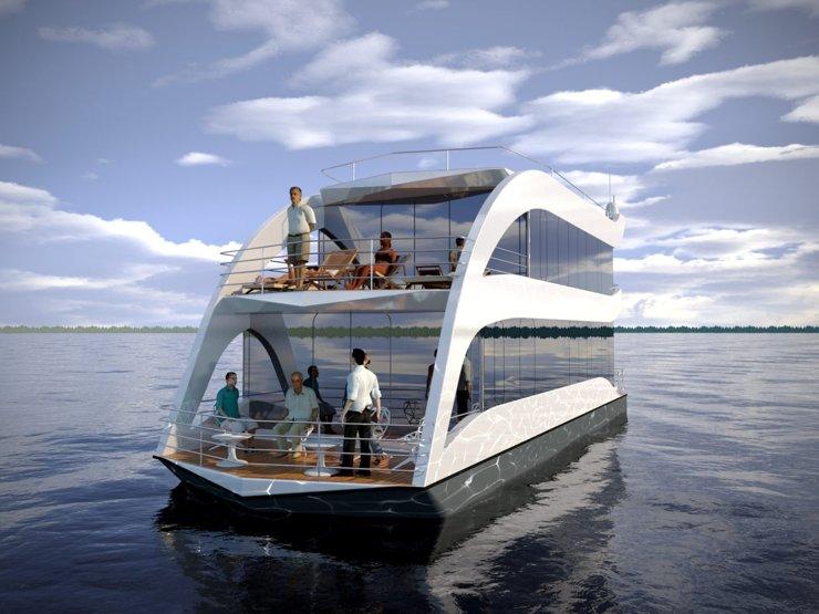 В Москве появятся плавучие поселки и отели