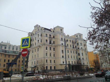 В Москве сносят легендарное здание «Литературной газеты»