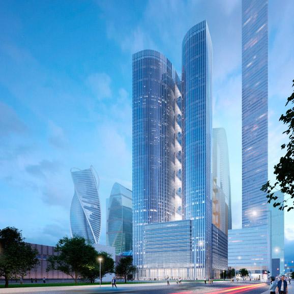 В «Москва-Сити» появится новый небоскреб
