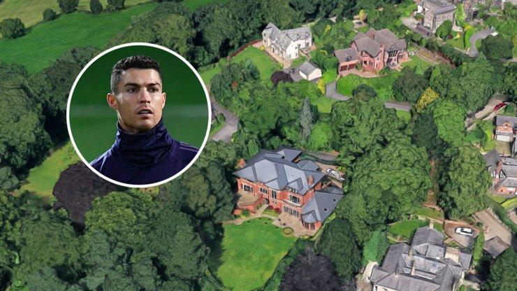 Роналду выставил на продажу особняк в Англии