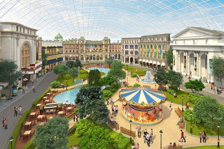Парк «Остров мечты» откроется в конце 2019 года