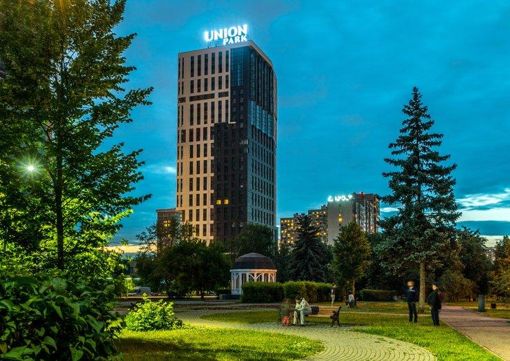ЖК Union Park – дворец нашего времени