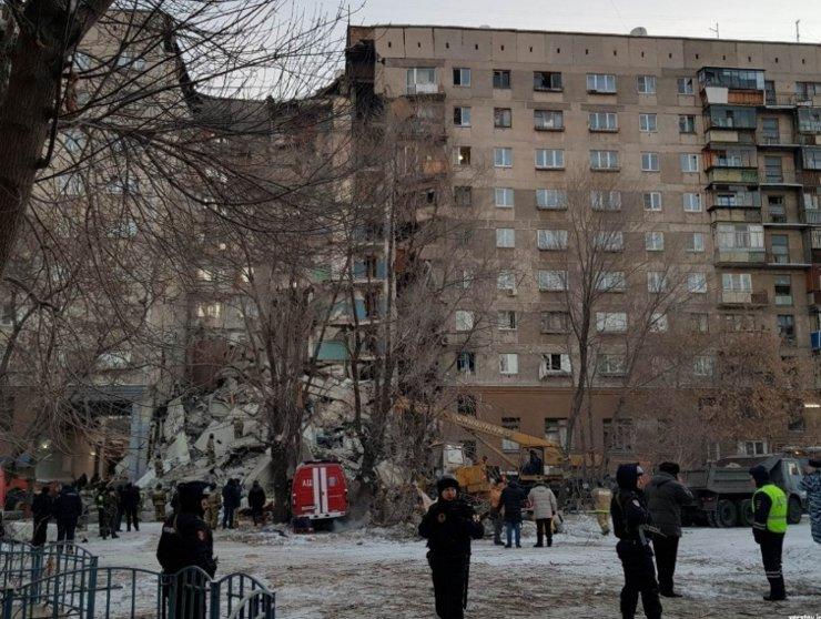 Жильцы взорвавшегося в Магнитогорске дома требуют расселения