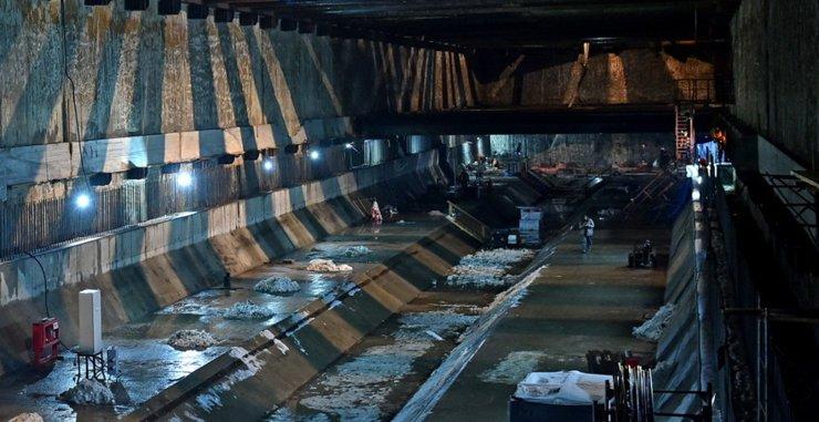 Началось строительство тоннеля к депо «Нижегородское»
