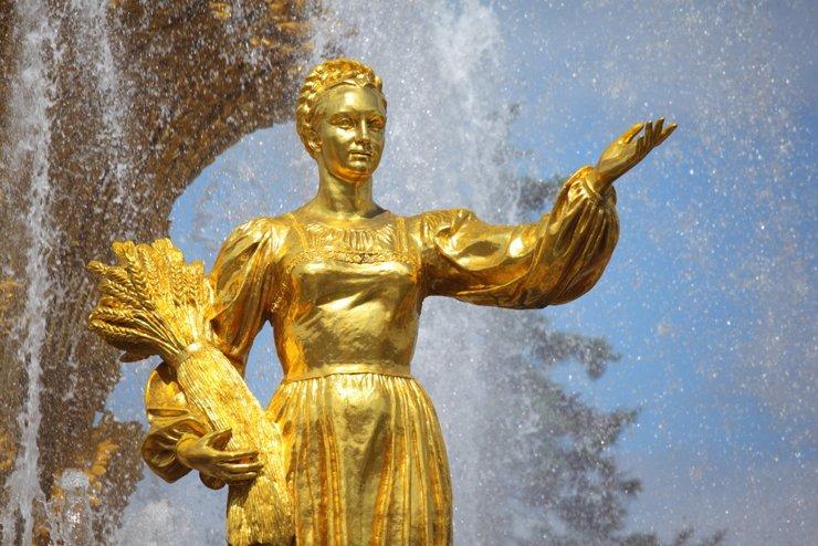 Реставрация фонтана «Дружба народов» завершится весной