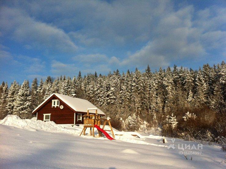 Дом недели: зимние сказки Карелии