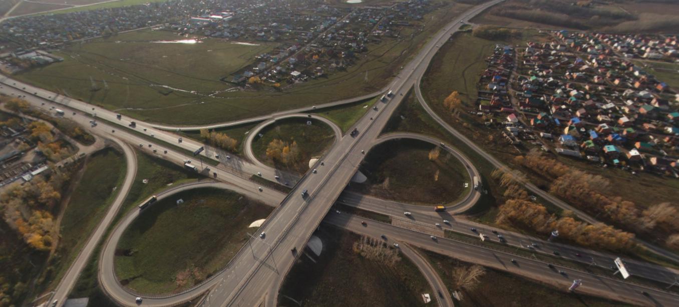Башкирскую трассу М-5 расширят до 6 полос