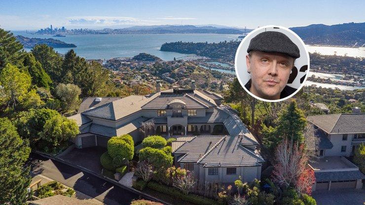 Основатель «Металлики» Ларс Ульрих продает дом в Сан-Франциско