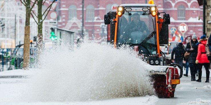 Московский снегопад побил 140-летний рекорд