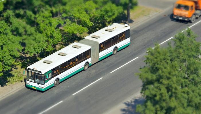 В Якутске 90 автобусов не вышли на маршруты