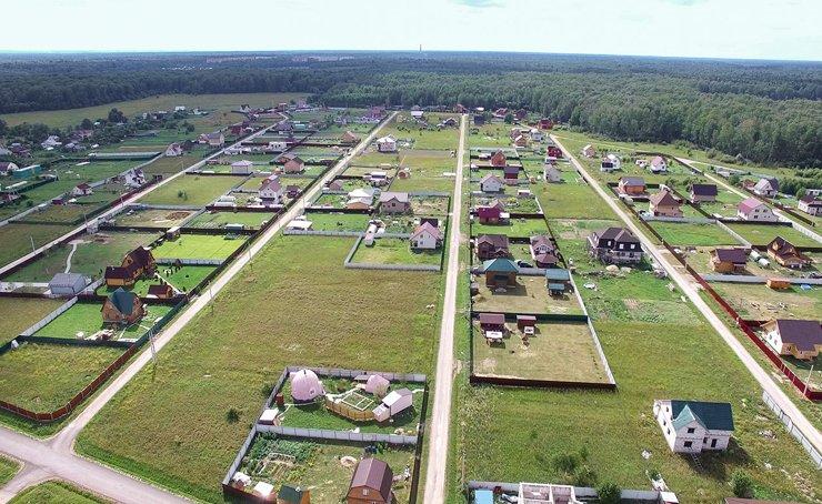 Коттеджные поселки: от 12800 руб. за сотку