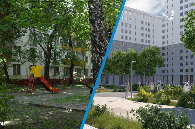 Реновация: плотность вырастет в 3-4 раза, паркинги будут платными, сады построят «потом»