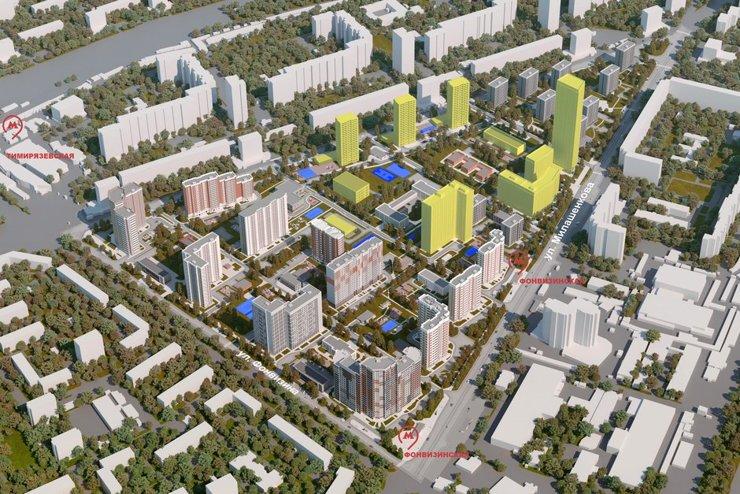 В Бутырском районе по реновации построят дом в 40 этажей