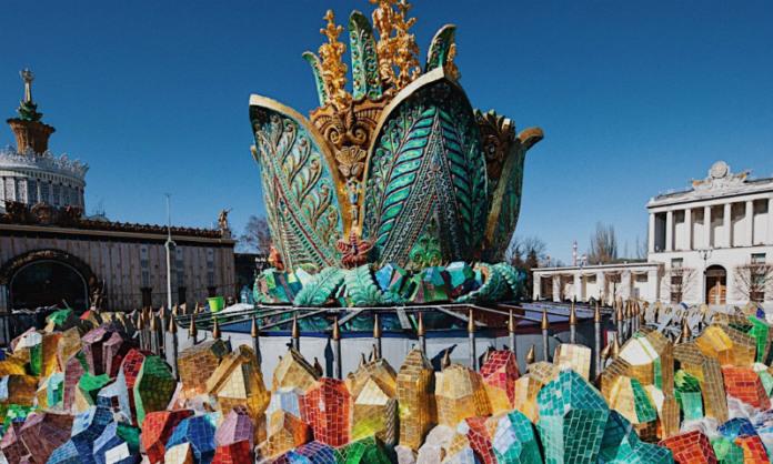 Соцсети возмутил отреставрированный фонтан на ВДНХ