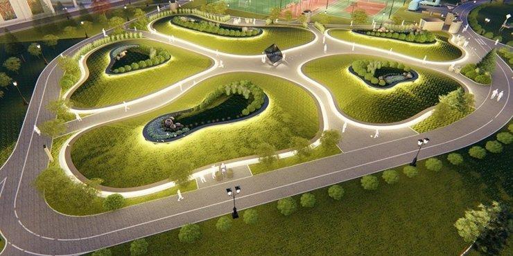 Возле «Острова Мечты» создадут зеленую зону с открытым кинотеатром