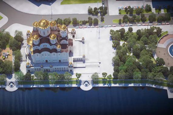 В Екатеринбурге демонтировали «забор раздора»