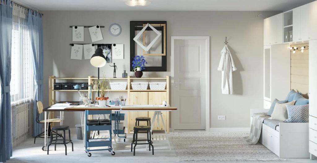 IKEA предложила дизайн-проекты для хрущевок