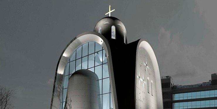 В Москве построят футуристическую церковь