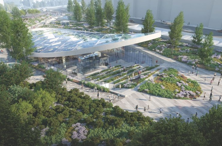 Согласован проект ТЦ-долгостроя под Павелецкой площадью