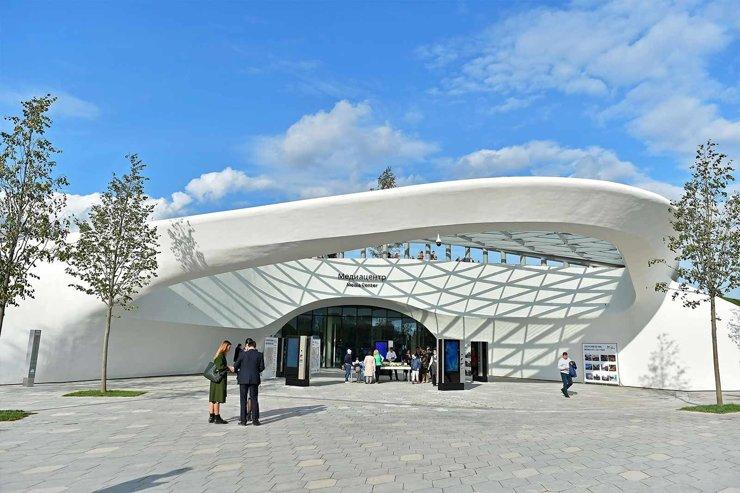 Концертный зал «Зарядье» назвали  «Проектом года» в Москве
