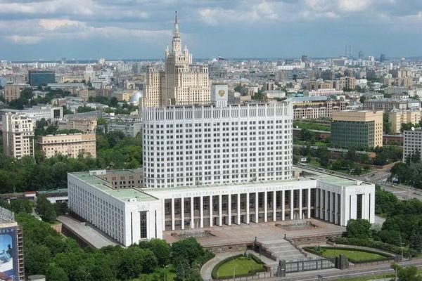 Дом Правительства России реконструируют