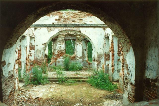 В селе Копнино снесли храм 1809 года