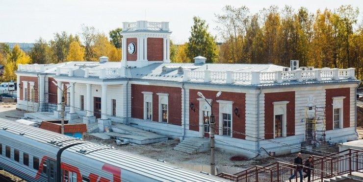 В Сосногорске построили первый в мире модульный вокзал