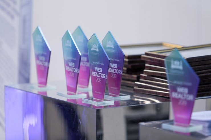 В Петербурге наградили лауреатов интернет-премии WEB REALTOR