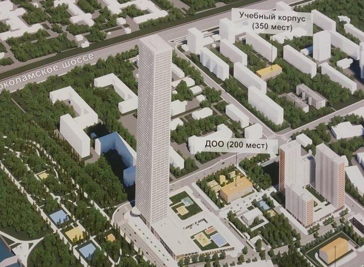 В проектах реновации нашли 72-этажную высотку