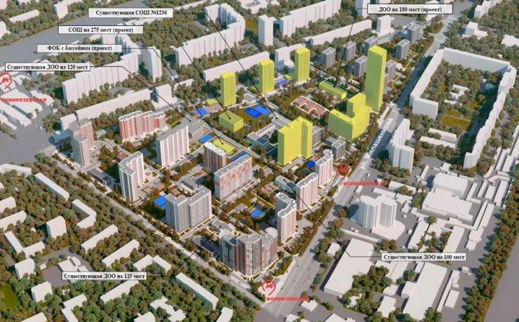 Столичные власти объяснили наличие высоток в проектах реновации
