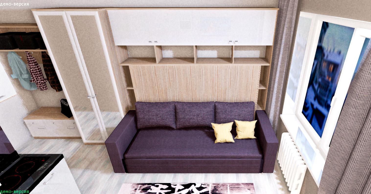 Впихнуть «невпихуемое»: мебель для микроквартиры