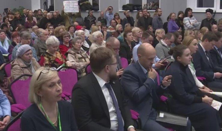 Слушания по реновации в пяти районах Москвы прошли «эмоционально»