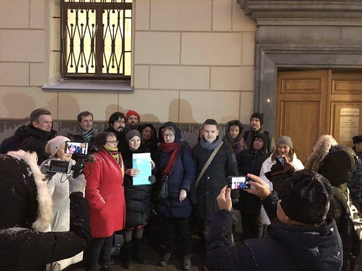 Более тысячи москвичей подали заявку на митинг против реновации