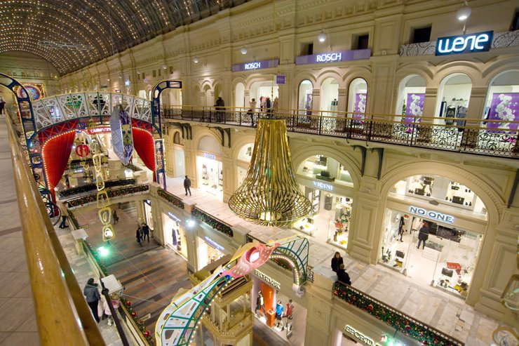 Интерес к крупным торговым центрам падает