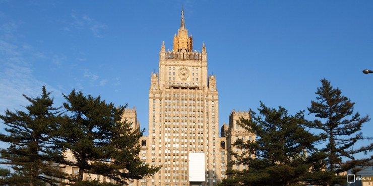 Завершена реставрация правого крыла здания МИД