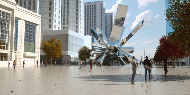 В квартале «Зиларт» установят крупнейший в мире арт-объект серии «Рост камней»