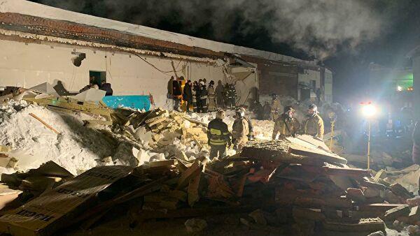 В Новосибирске обрушилась крыша кафе