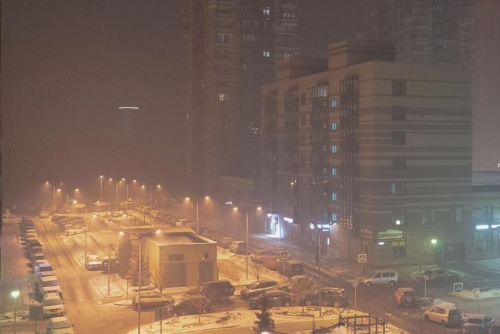Сергей Шнуров посвятил стихотворение окутанному смогом Красноярску